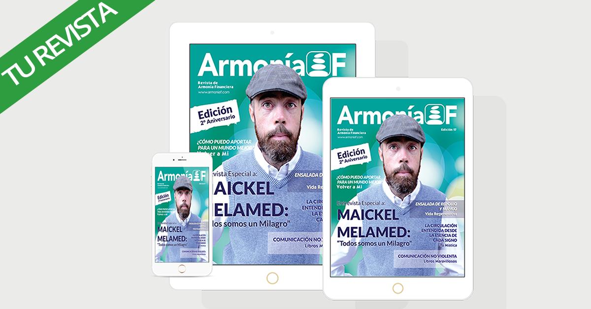Maickel Melamed en ArmoníaF Revista