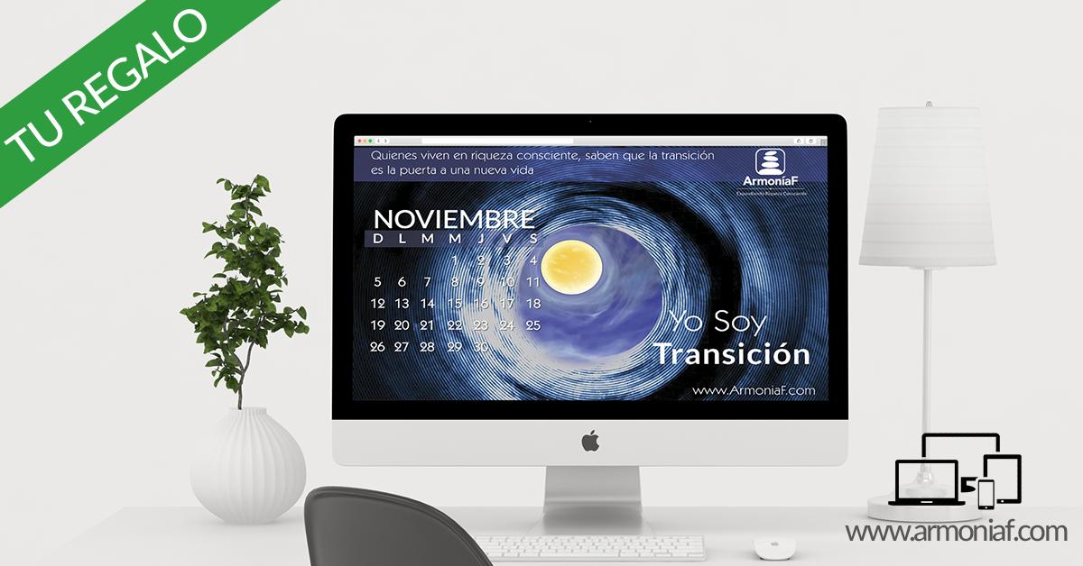 Calendario ArmoníaF Noviembre 2017