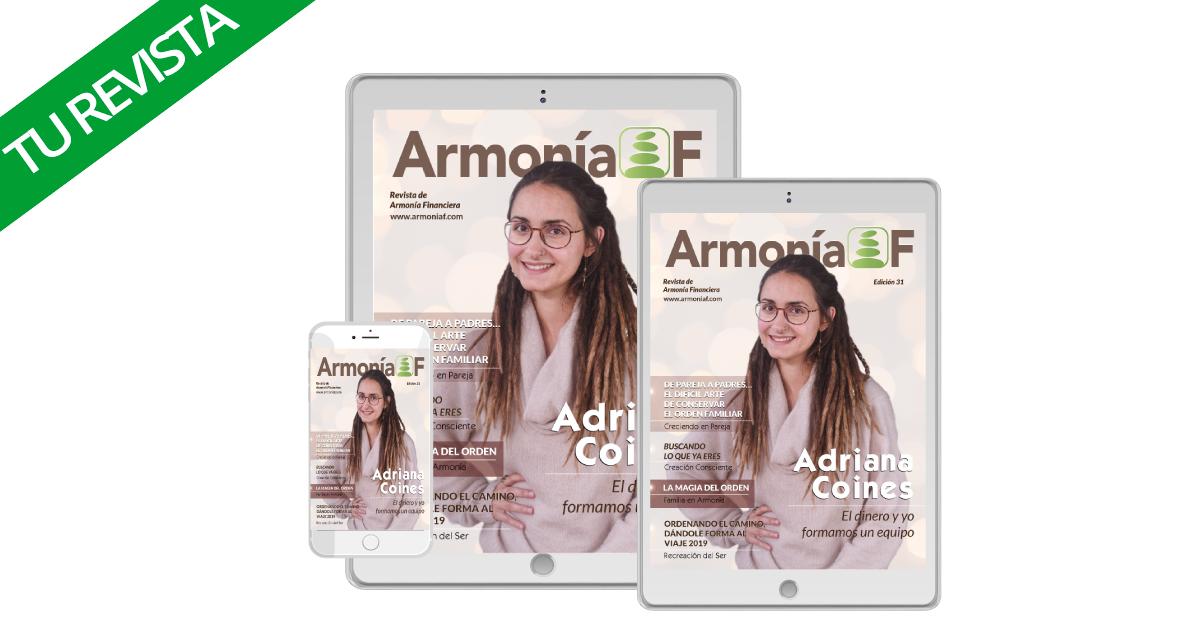 ArmoniaF Revista Adriana Coines Minimalismo